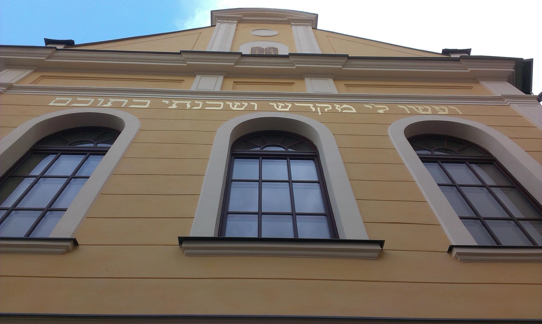 ARTISAN Reštaurovanie fasád Synagógy v Banskej Štiavnici