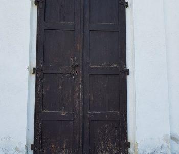 Reštaurovanie dverí ev. kostola v Zelenom - Artisan